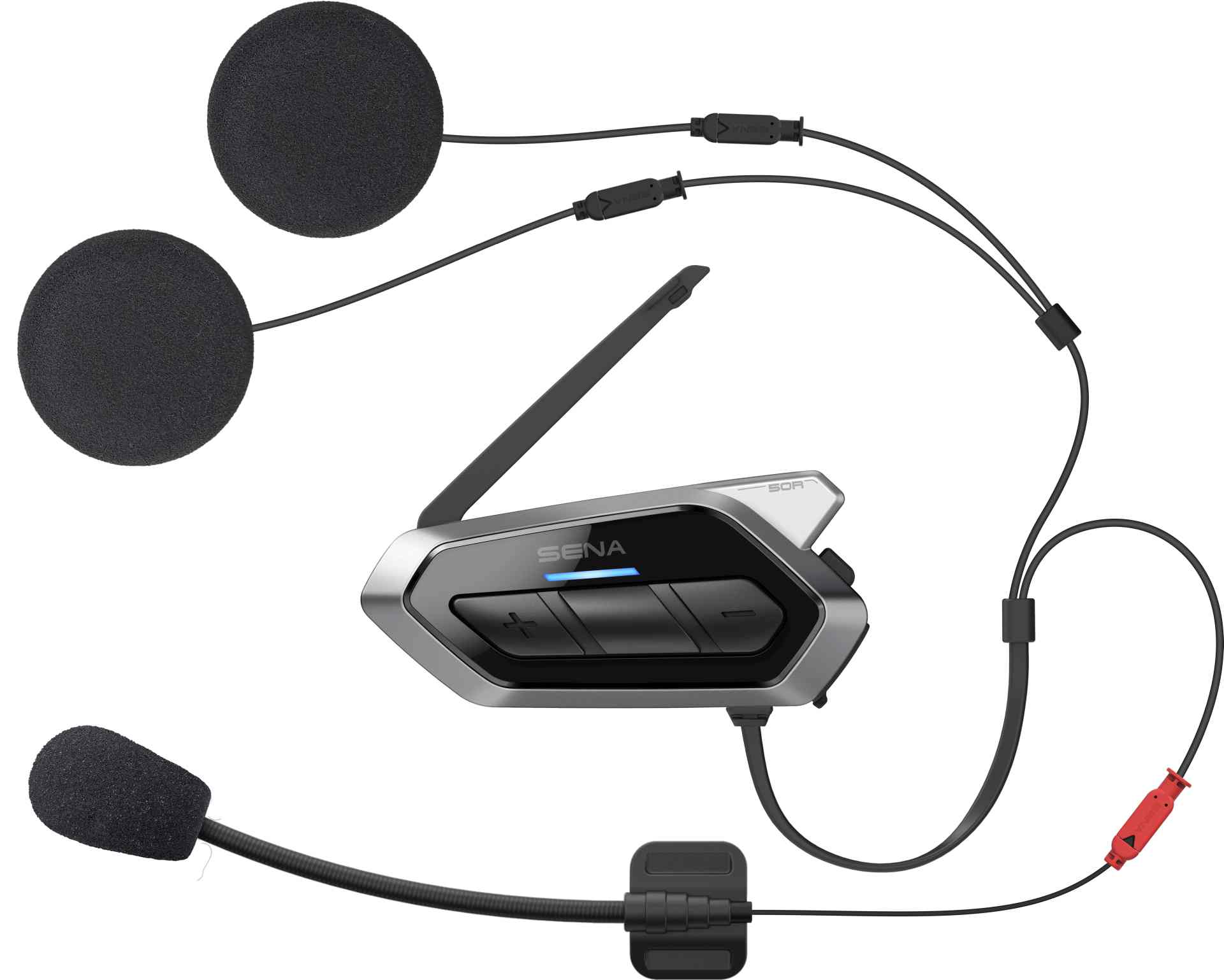 SENA 50R-01D INTERCOM , MESH 2.0 BLUETOOTH 5 HANDSFREE HEADSET SADA 2 JEDNOTEK